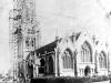 All Saints Church scaffolding