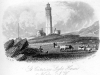 Engraving St Catherines Lighthouse