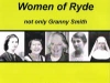 Women of Ryde from Australia