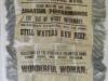 1860 - silk theatre advertisement