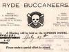 Ryde Buccaneers card