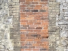 Bricked up doorway in Castle Street