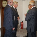 Andrew and Brian chat to HRH The Duke of Gloucester and the Lord Lieutenant